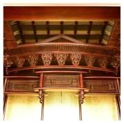 岸佛光堂オリジナル仏壇「光山」板扉一枚型 ー 空殿
