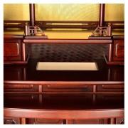 岸佛光堂オリジナル仏壇「京雅」仕込壇 板扉型 紫檀 ー 隠し収納