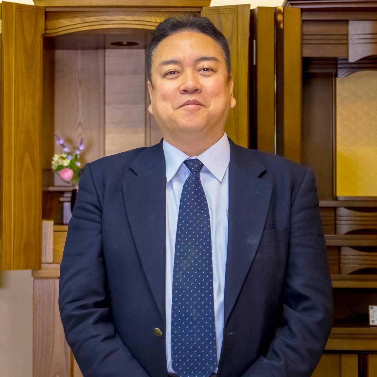 岸佛光堂倉敷店店長横山さん