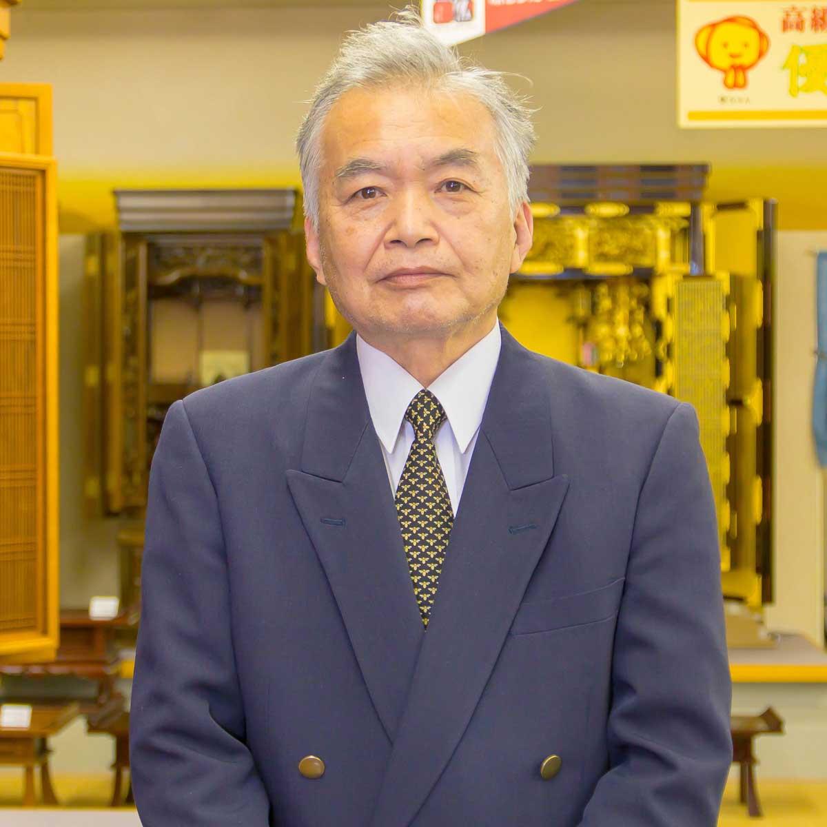 岸佛光堂津山店 熱田 満男さん